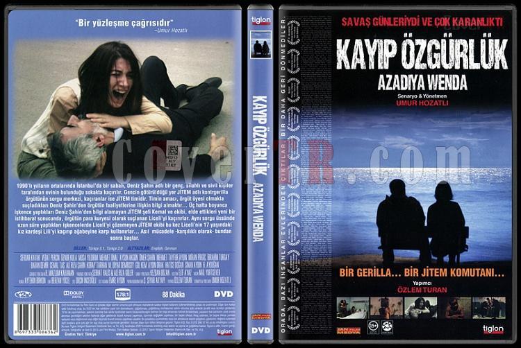 Kayıp Özgürlük - Scan Dvd Cover - Türkçe [2011]-kayip-ozgurluk-scan-dvd-cover-turkce-2011jpg