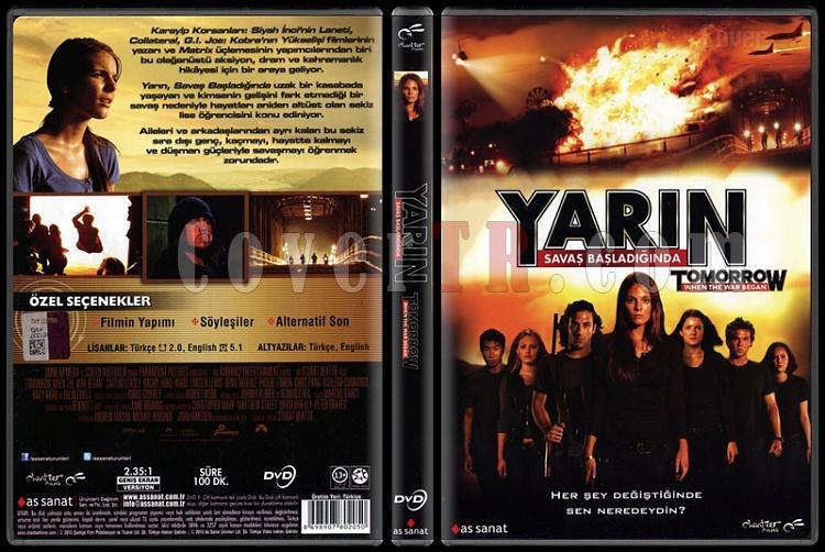 Tomorrow When The War Began (Yarın Savaş Başladığında) - Scan Dvd Cover - Türkçe [2010]-tomorrow-when-war-began-yarin-savas-basladiginda-scan-dvd-cover-turkce-2010jpg