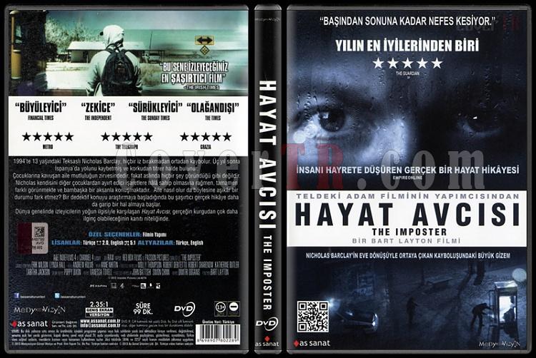 The Imposter (Hayat Avcısı) - Scan Dvd Cover - Türkçe [2012]-imposter-hayat-avcisi-scan-dvd-cover-turkce-2012jpg