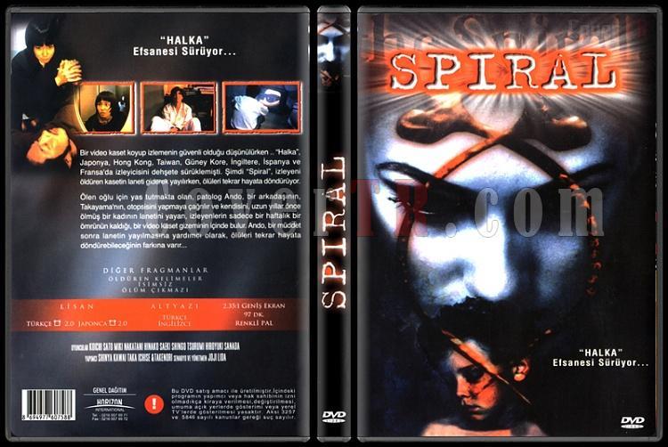 Rasen (Spiral) - Scan Dvd Cover - Türkçe [1998]-rasen-aka-spiral-spiral-scan-dvd-cover-turkce-1998-prejpg