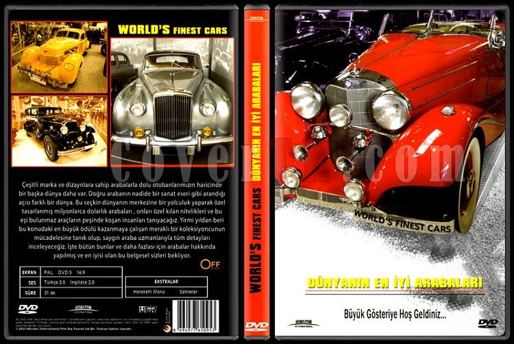 World's Finest Cars (Dünyanın En İyi Arabaları) - Scan Dvd Cover - Türkçe [2011]-capsjpg