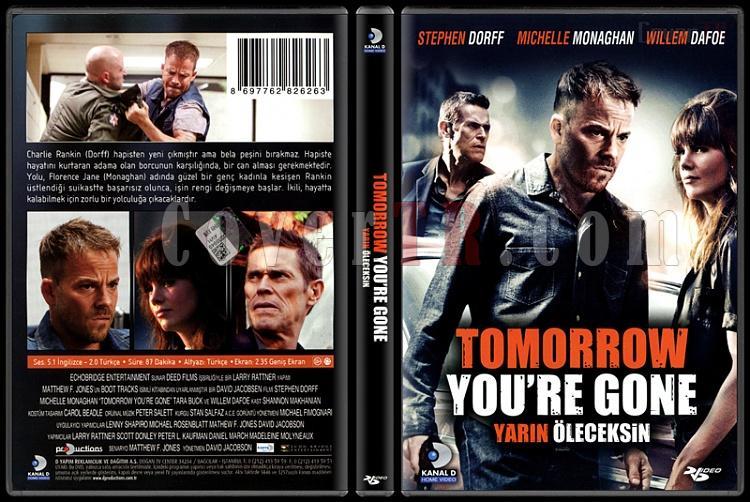 Tomorrow You're Gone (Yarın Öleceksin) - Scan Dvd Cover - Türkçe [2012]-tomorrow-youre-gone-yarin-oleceksin-scan-dvd-cover-turkce-2012jpg