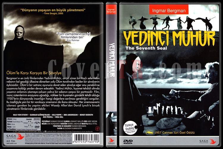 The Seventh Seal / Det Sjunde Inseglet (Yedinci Mühür) - Scan Dvd Cover - Türkçe [1957]-seventh-seal-det-sjunde-inseglet-yedinci-muhurjpg