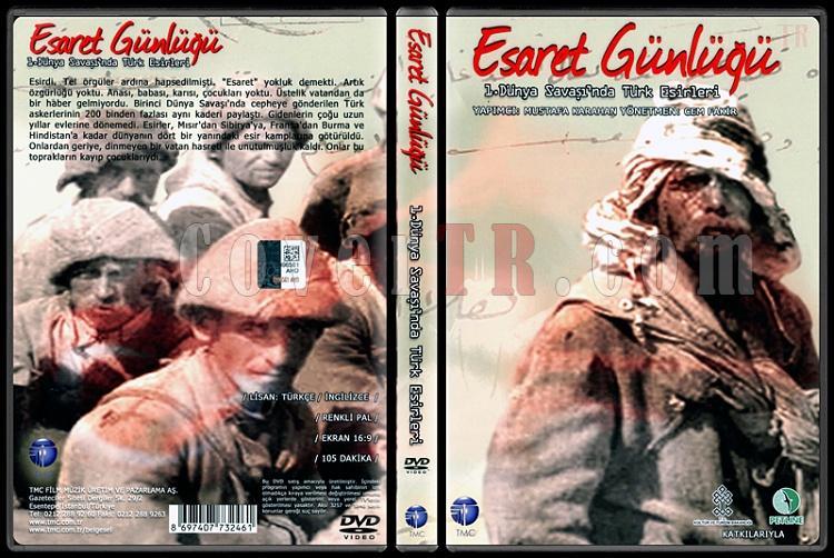 Esaret Günlüğü: 1. Dünya Savaşı'nda Türk Esirleri - Scan Dvd Cover - Türkçe [2012]-esaret-gunlugu-1-dunya-savasinda-turk-esirlerijpg