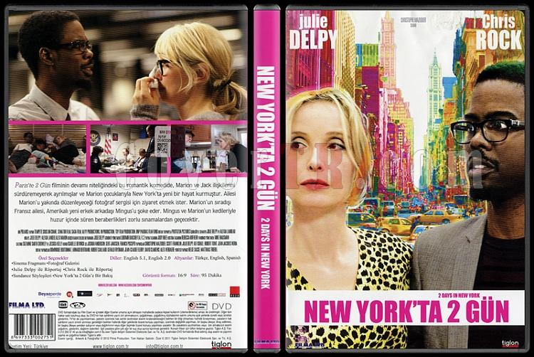 2 Days in New York (New York´ta 2 Gün) - Scan Dvd Cover - Türkçe [2012]-2-days-new-york-new-york-ta-2-gun-scan-dvd-cover-turkce-2012jpg