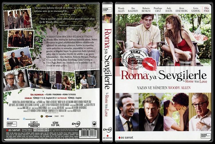 To Rome with Love (Roma'ya Sevgilerle) - Scan Dvd Cover - Türkçe [2012]-rome-love-romaya-sevgilerle-scan-dvd-cover-turkce-2012jpg