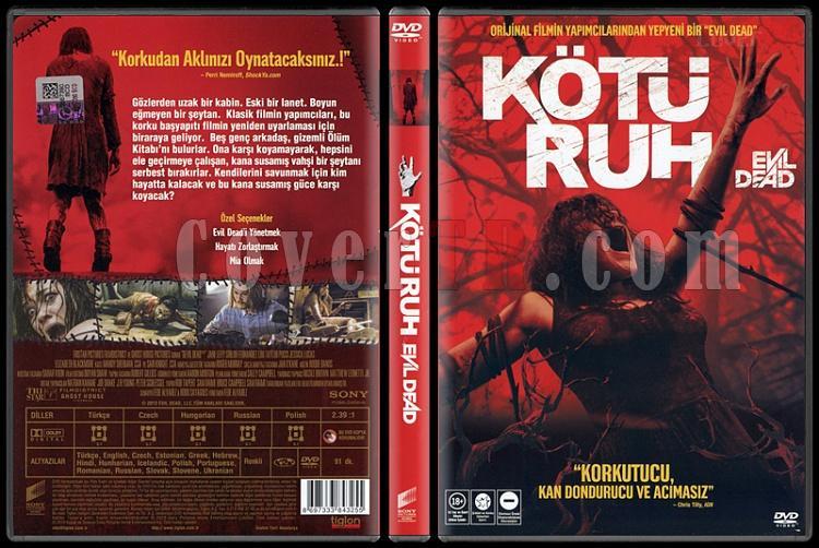 Evil Dead (Kötü Ruh) - Scan Dvd Cover - Türkçe [2013]-evil-dead-kotu-ruh-scan-dvd-cover-turkce-2013jpg