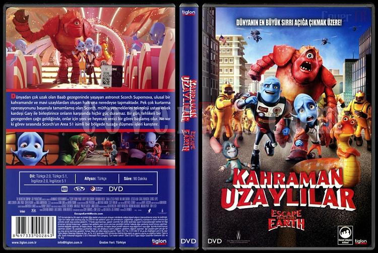 Escape from Planet Earth (Kahraman Uzaylılar) - Scan Dvd Cover - Türkçe [2013]-escape-planet-earth-kahraman-uzaylilar-scan-dvd-cover-turkce-2013jpg