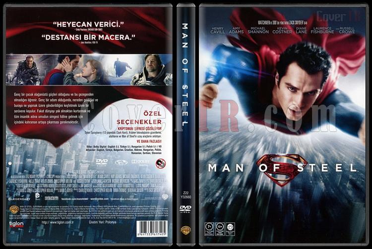 Man of Steel (Çelik Adam) - Scan Dvd Cover - Türkçe [2013]-man-steel-celik-adam-scan-dvd-cover-turkce-2013jpg