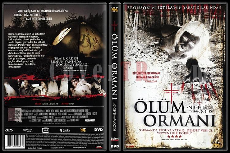 A Night in the Woods (Ölüm Ormanı) - Scan Dvd Cover - Türkçe [2011]-night-woods-olum-ormani-scan-dvd-cover-turkce-2011jpg