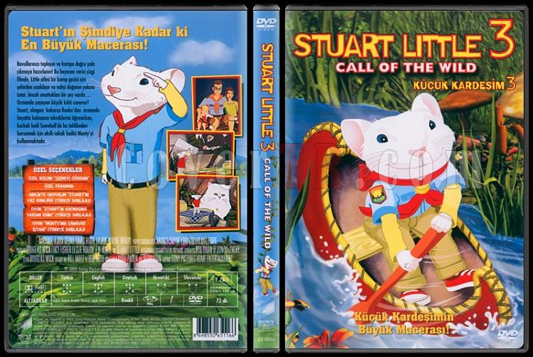 Stuart Little 3: Call of the Wild (Küçük Kardeşim 3) - Scan Dvd Cover - Türkçe [2005]-kucuk-kardesim-3-stuart-little-3-call-wildjpg