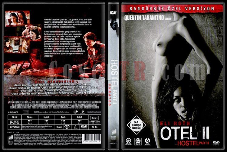 Hostel: Part II (Otel 2) - Scan Dvd Cover - Türkçe [2007]-otel-2jpg