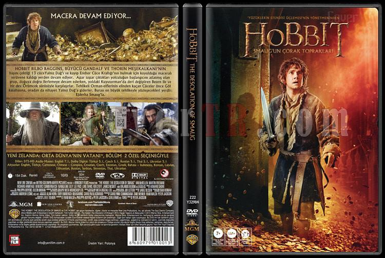 The Hobbit: The Desolation of Smaug (Hobbit 2: Smaug'un Çorak Toprakları) - Scan Dvd Cover - Türkçe [2013]-hobbit-desolation-smaug-hobbit-2-smaugun-corak-topraklari-scan-dvd-cover-turkcjpg