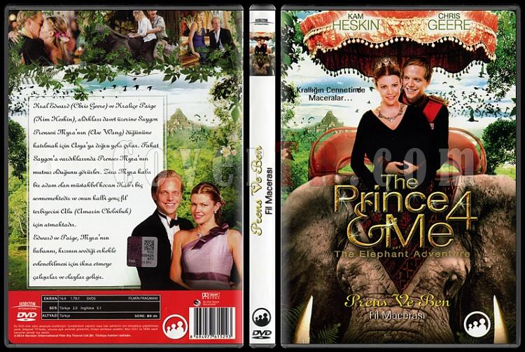 The Prince & Me: The Elephant Adventure (Prens ve Ben: Fil Macerası) - Scan Dvd Cover - Türkçe [2010]-prince-me-elephant-adventure-prens-ve-ben-scan-dvd-cover-english-2010jpg