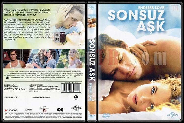 Endless Love (Sonsuz Aşk) - Scan Dvd Cover - Türkçe [2014]-endless-love-sonsuz-ask-scan-dvd-cover-english-2014jpg