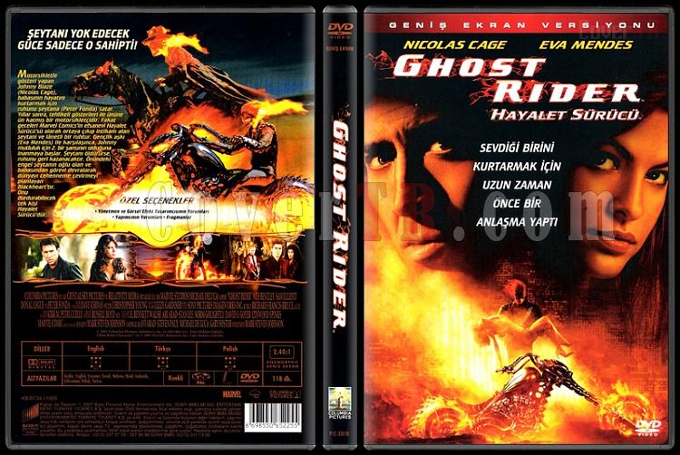 Ghost Rider (Hayalet Sürücü) - Scan Dvd Cover - Türkçe [2007]-ghost-rider-hayalet-surucu-scan-dvd-cover-turkce-2007jpg