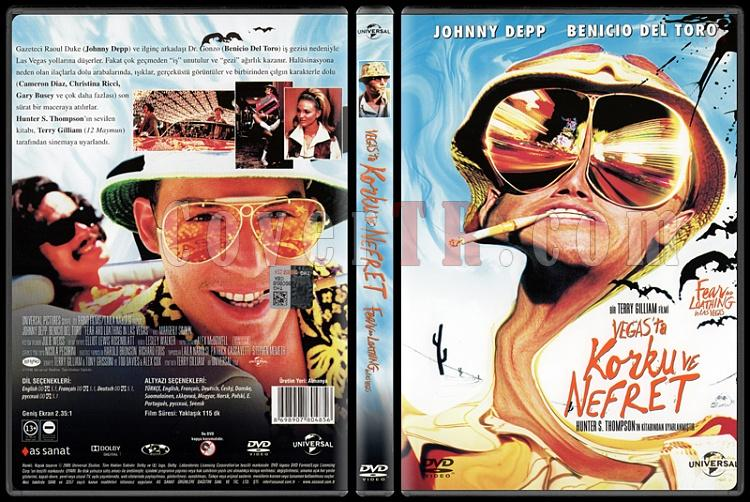 Fear and Loathing in Las Vegas (Vegas'ta Korku ve Nefret) - Scan Dvd Cover - Türkçe [1998]-fear-loathing-las-vegas-vegasta-korku-ve-nefret-scan-dvd-cover-turkce-1998jpg