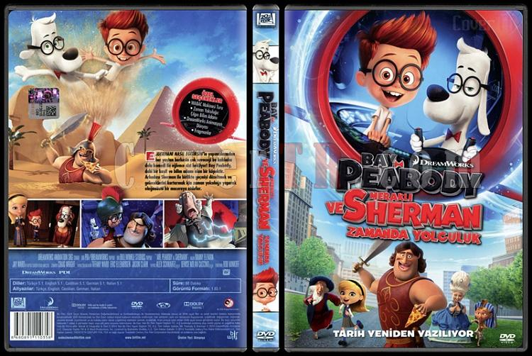 Mr. Peabody & Sherman (Bay Peabody ve Meraklı Sherman Zamanda Yolculuk) - Scan Dvd Cover - Türkçe [2014]-mr-peabody-sherman-bay-peabody-ve-merakli-sherman-zamanda-yolculuk-scan-dvd-cover-turkcjpg