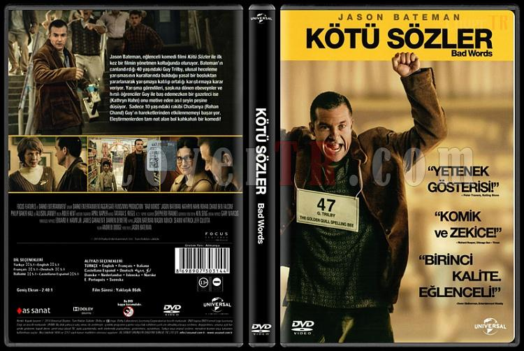 Bad Words (Kötü Sözler) - Scan Dvd Cover - Türkçe [2013]-bad-words-kotu-sozler-scan-dvd-cover-turkce-2013jpg
