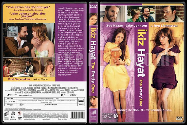 The Pretty One (İkiz Hayat) - Scan Dvd Cover - Türkçe [2013]-pretty-one-ikiz-hayat-scan-dvd-cover-turkce-2013jpg