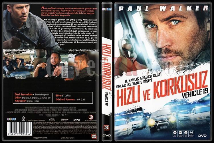 Vehicle 19 (Hızlı ve Korkusuz) - Scan Dvd Cover - Türkçe [2013]-vehicle-19-hizli-ve-korkusuz-scan-dvd-cover-turkce-2013jpg