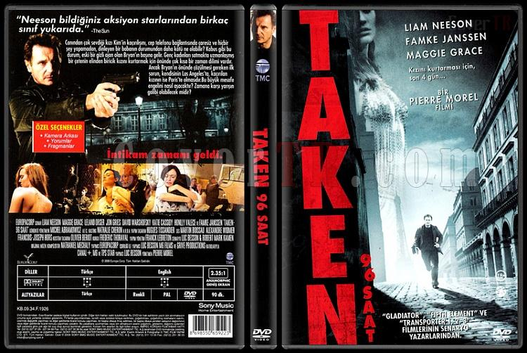 Taken (96 Saat) - Scan Dvd Cover - Türkçe [2008]-taken-96-saat-scan-dvd-cover-turkce-2008jpg