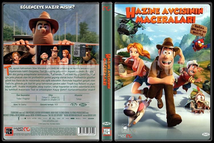 Tad, the Lost Explorer (Hazine Avcısının Maceraları) - Scan Dvd Cover - Türkçe [2012]-tad-lost-explorer-hazine-avcisinin-maceralari-scan-dvd-cover-turkce-2012jpg
