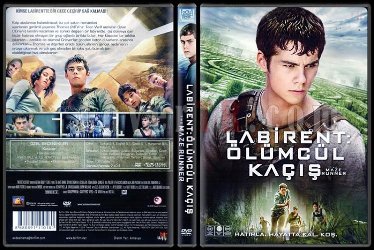 The Maze Runner (Labirent: Ölümcül Kaçış) - Scan Dvd Cover - Türkçe [2014]-maze-runner-labirent-olumcul-kacis-scan-dvd-cover-turkce-2014jpg