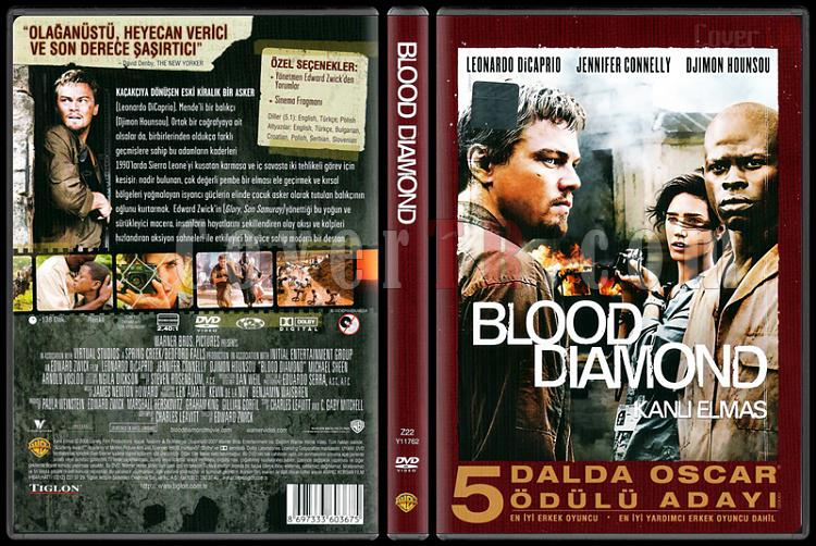 Blood Diamond (Kanlı Elmas) - Scan Dvd Cover - Türkçe [2006]-blood-diamond-kanli-elmas-scan-dvd-cover-turkce-2006jpg