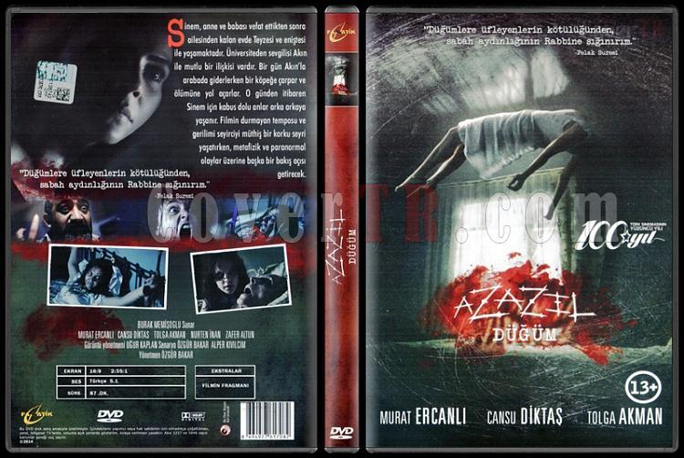 Azazil - Scan Dvd Cover - Türkçe [2014]-azazil-scan-dvd-cover-turkce-2014jpg