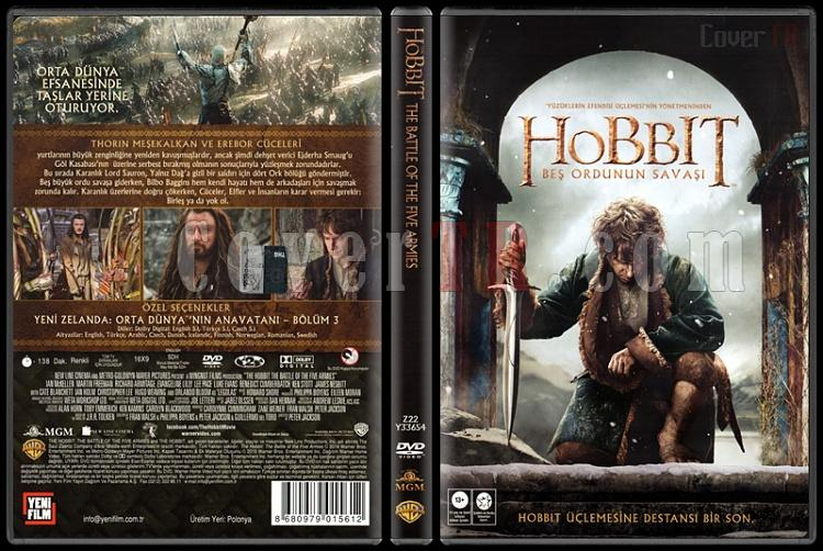 The Hobbit: The Battle of the Five Armies (Hobbit: Beş Ordunun Savaşı) - Scan Dvd Cover - Türkçe [2014]-hobbit-battle-five-armies-hobbit-gittim-ve-dondum-scan-dvd-cover-turkce-20jpg