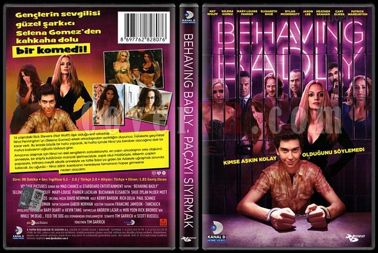 Behaving Badly (Paçayı Sıyırmak) - Scan Dvd Cover - Türkçe [2014]-behaving-badly-pacayi-siyirmak-scan-dvd-cover-turkce-2014jpg
