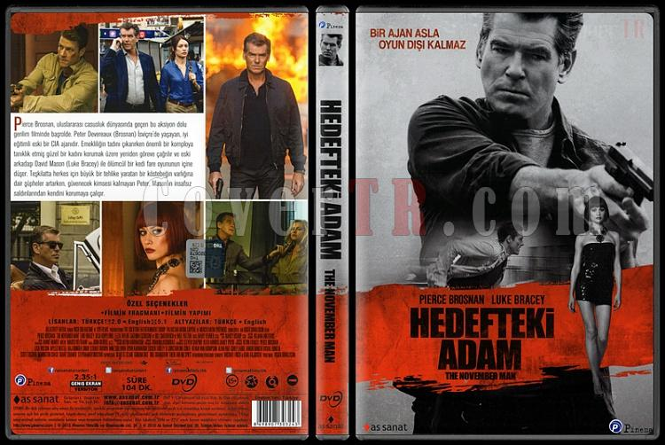 The November Man (Hedefteki Adam) - Scan Dvd Cover - Türkçe [2014]-november-man-hedefteki-adam-scan-dvd-cover-turkce-2014jpg