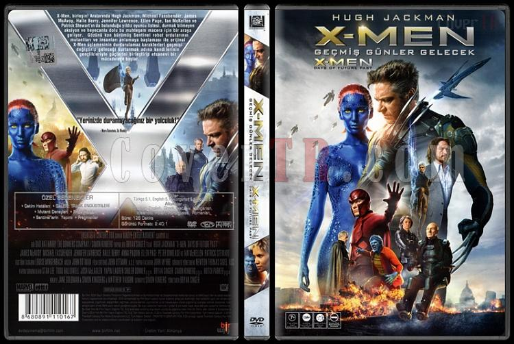 X-Men: Days of Future Past (X-Men: Geçmiş Günler Gelecek) - Scan Dvd Cover - Türkçe [2014]-x-men-days-future-past-x-men-gecmis-gunler-gelecek-scan-dvd-cover-turkce-2014jpg