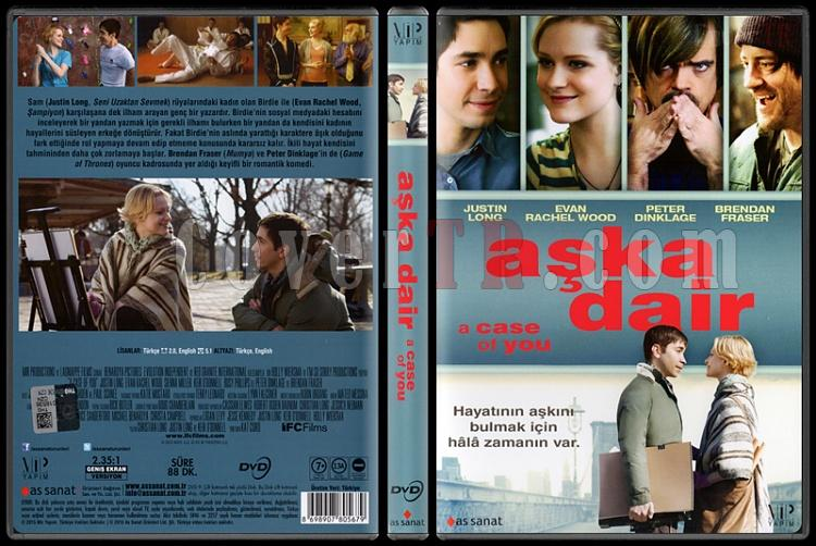 A Case Of You (Aşka Dair) - Scan Dvd Cover - Türkçe [2013]-case-you-aska-dair-scan-dvd-cover-turkce-2013jpg