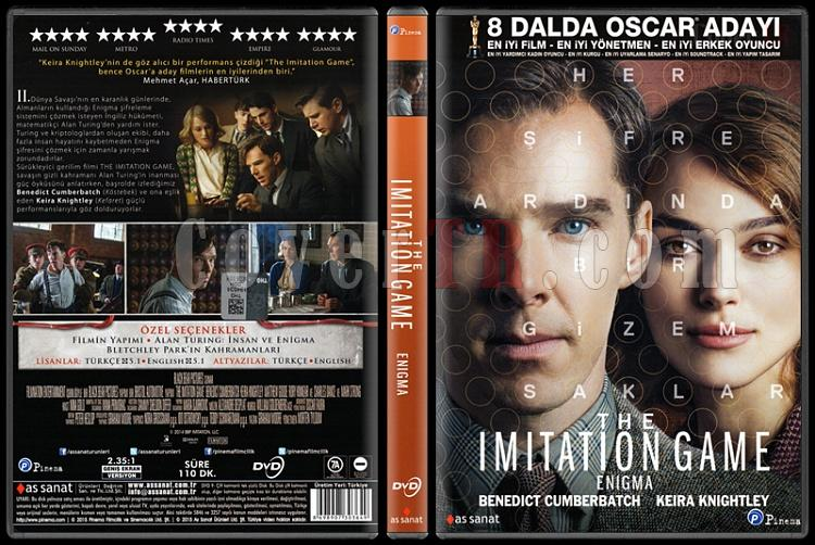 The Imitation Game (Enigma) - Scan Dvd Cover - Türkçe [2014]-imitation-game-enigma-scan-dvd-cover-turkce-2014jpg