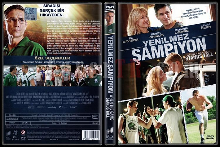 When the Game Stands Tall (Yenilmez Şampiyon) - Scan Dvd Cover - Türkçe [2014]-when-game-stands-tall-yenilmez-sampiyon-scan-dvd-cover-turkce-2014jpg