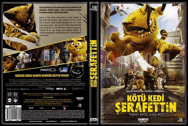 Kötü Kedi Şerafettin - Scan Dvd Cover - Türkçe [2016]-kotu-kedi-serafettinjpg