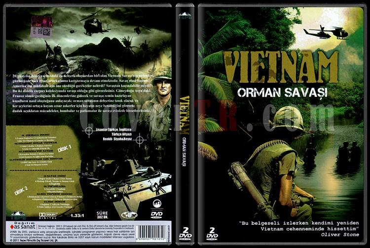 Vietnam War in The Jungle (Vietnam Orman Savaşı) - Scan Dvd Cover - Türkçe [2004]-vietnam-orman-savasi-vietnam-war-junglejpg