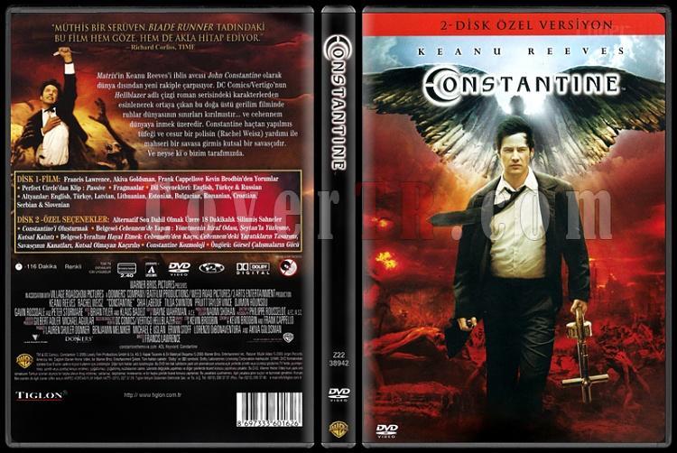 Constantine (2 Disk Özel Versiyon) - Scan Dvd Cover - Türkçe [2005]-untitled-1jpg