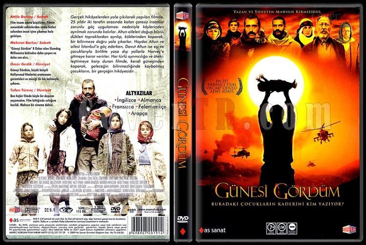 Güneşi Gördüm (I Saw the Sun) - Scan Dvd Cover - Türkçe [2009]-1jpg