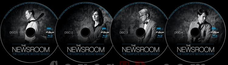 The Newsroom (Season 2) - Custom Blu-Ray Label Set - English [2012-?]-newsroom-season-2-blu-ray-ctrjpg