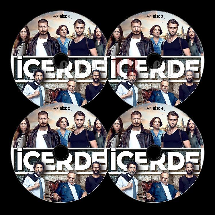 İçerde (Sezon 1) - Custom Bluray Label Set - Türkçe [2016]-alljpg