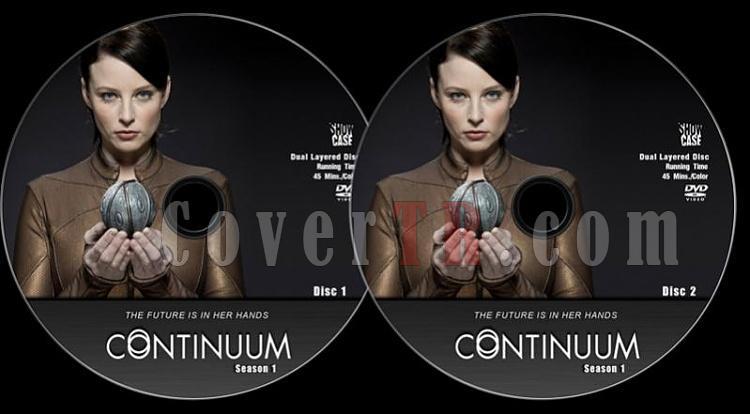 Continuum - Season 1 - Custom Dvd Label Set - English [2012]-pozjpg