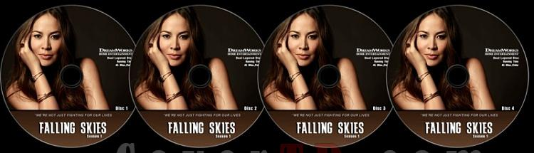 Falling Skies (Season 1) - Custom Dvd Label Set - English [2011]-poz-season-1jpg