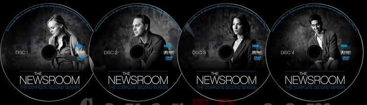 The Newsroom (Season 2) - Custom Dvd Label Set - English [2012-?]-newsroom-season-2-ctr-v2jpg