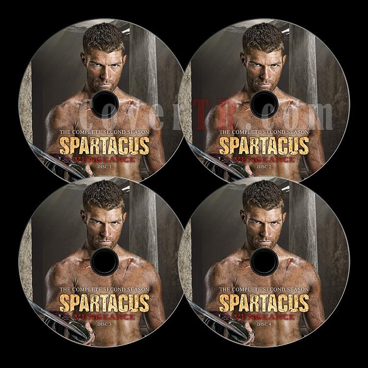 Spartacus: Vengeance - Custom Dvd Label Set - English-3jpg