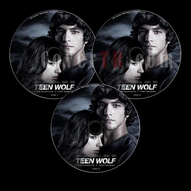 Teen Wolf (Season 1) - Custom Dvd Label Set - English [2011-?]-s01-previewjpg