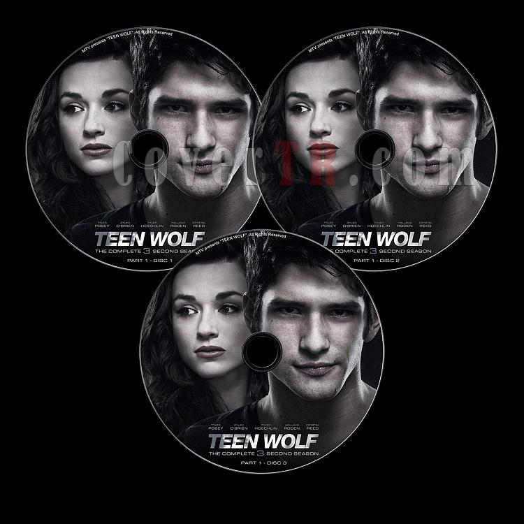 Teen Wolf (Season 3 Part 1) - Custom Dvd Label Set - English [2011-?]-s03p1-previewjpg