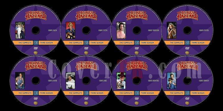 The Dukes of Hazzard (Season 3) - Custom Dvd Label Set - English [1979-1985]-untitled-1jpg